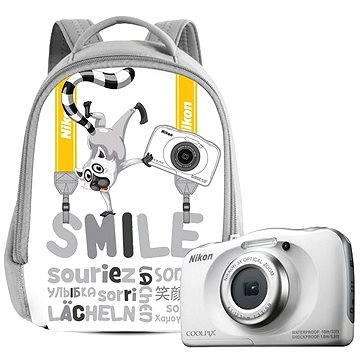 Nikon COOLPIX W100 bílý backpack kit (VQA010K001)