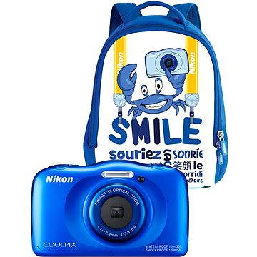 Nikon COOLPIX W100 modrý backpack kit (VQA011K001)