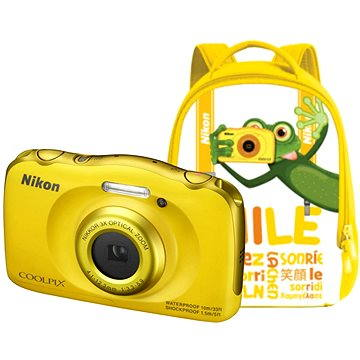 Nikon COOLPIX W100 žlutý backpack kit (VQA013K001)