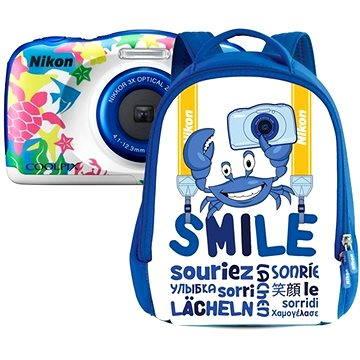 Nikon COOLPIX W100 námořní modrá backpack kit (VQA014K001)