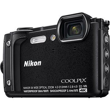 Nikon COOLPIX W300 černý (VQA070E1) + ZDARMA Paměťová karta SanDisk SDHC 32GB Ultra Class 10 UHS-I Plnitelný rozprašovač parfémů TRAVALO Refill Atomizer Classic HD 5 ml Titan