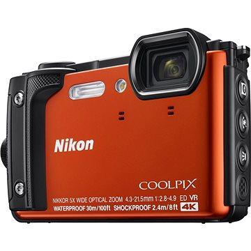 Nikon COOLPIX W300 oranžový (VQA071E1) + ZDARMA Paměťová karta SanDisk SDHC 32GB Ultra Class 10 UHS-I Plnitelný rozprašovač parfémů TRAVALO Refill Atomizer Classic HD 5 ml Titan