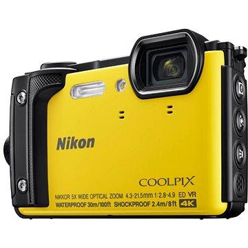 Nikon COOLPIX W300 žlutý (VQA072E1) + ZDARMA Paměťová karta SanDisk SDHC 32GB Ultra Class 10 UHS-I Plnitelný rozprašovač parfémů TRAVALO Refill Atomizer Classic HD 5 ml Titan