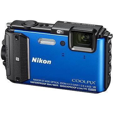 Nikon COOLPIX AW130 modrý (VNA841E1) + ZDARMA Poukaz Elektronický dárkový poukaz Alza.cz v hodnotě 500 Kč, platnost do 28/2/2017