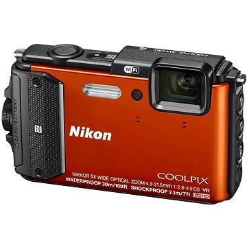 Nikon COOLPIX AW130 oranžový (VNA842E1) + ZDARMA Poukaz Elektronický dárkový poukaz Alza.cz v hodnotě 500 Kč, platnost do 28/2/2017