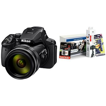 Nikon COOLPIX P900 + Alza Foto Video Starter Kit 2019