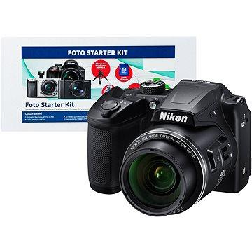 Nikon COOLPIX B500 černý + Alza Foto Starter Kit + ZDARMA Hlavolam Fidget Spinner zelený + časop