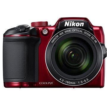 Nikon COOLPIX B500 červený (VNA953E1) + ZDARMA Plnitelný rozprašovač parfémů TRAVALO Refill Atomizer Classic HD 5 ml Titan