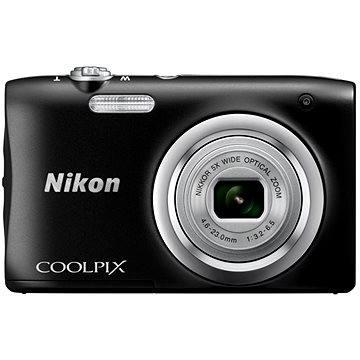 Nikon COOLPIX A100 černý (VNA971E1) + ZDARMA Hlavolam Fidget Spinner zelený + časopis