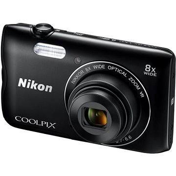 Nikon COOLPIX A300 černý (VNA961E1) + ZDARMA Stativ Rollei Monkey Pod Černý Hlavolam Fidget Spinner zelený + časopis