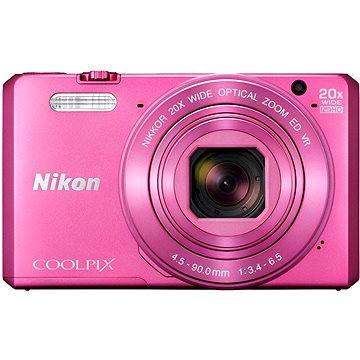 Nikon COOLPIX S7000 růžový + poudro (VNA803K001)