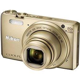 Nikon COOLPIX S7000 zlatý + pouzdro (VNA802K002)