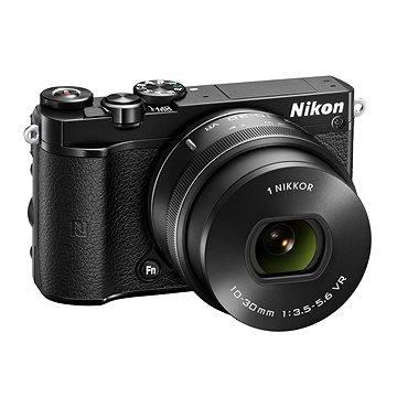 Nikon 1 J5 černý + objektiv 10-30mm (VVA241K001) + ZDARMA Brašna na fotoaparát Lowepro Format 110 černý