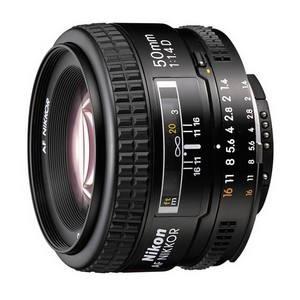 NIKKOR 50mm f/1.4 AF D A black (JAA011DB)
