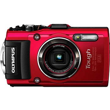 Olympus TOUGH TG-4 red (V104160RE000)