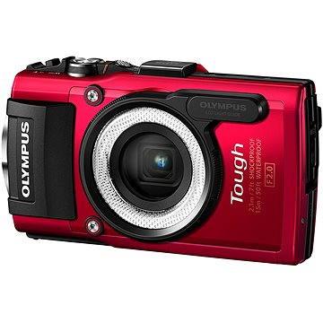 Olympus TOUGH TG-4 červený + LG-1 LED Light Guide (V104160RE020)