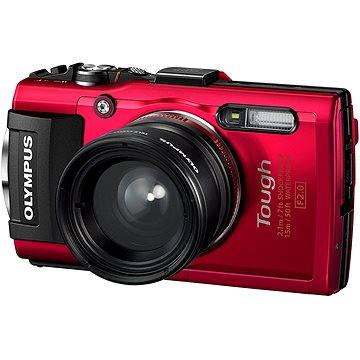 Olympus TOUGH TG-4 červený (TG-4 Fisheye Kit) (V104160RE010)