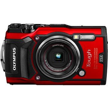 Olympus TOUGH TG-5 červený + Maxi Kit (V104190RE010)