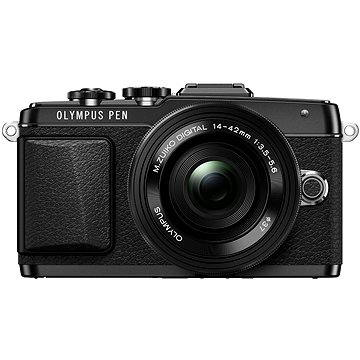 Olympus PEN E-PL7 černý + objektiv 14-42mm Pancake Zoom (V205073BE001)