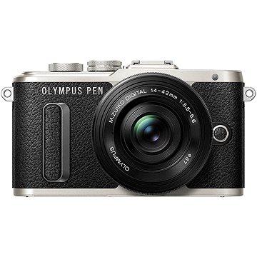Olympus PEN E-PL8 černý + Pancake objektiv ED 14-42 mm EZ černý + Olympus Starter Kit (FTDFOMEPL8064)