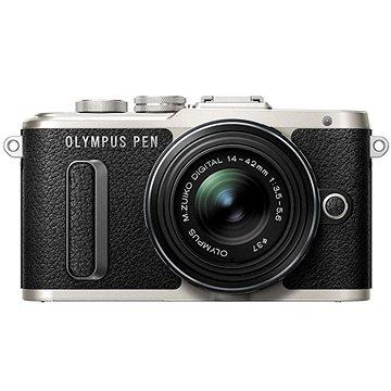Olympus PEN E-PL8 černý + objektiv ED 14-42 II R černý (V205081BE000)
