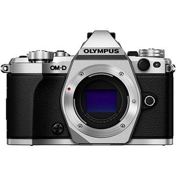 Olympus E-M5 Mark II tělo + objektiv 14-42mm EZ stříbrný/černý (V207044SE000)
