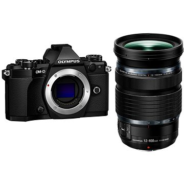 Olympus E-M5 Mark II + objektiv 12-100mm IS Pro kit černý/černý (V207040BE010)