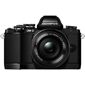 Olympus E-M10 black/black + ED 14-42mm EZ + bateriový grip (V207023BE010) + ZDARMA Brašna na fotoaparát Lowepro Format 110 černý