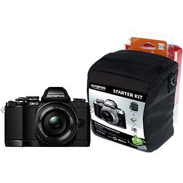 Olympus E-M10 EZ black/black + ED 14-42mm EZ + Olympus Starter Kit
