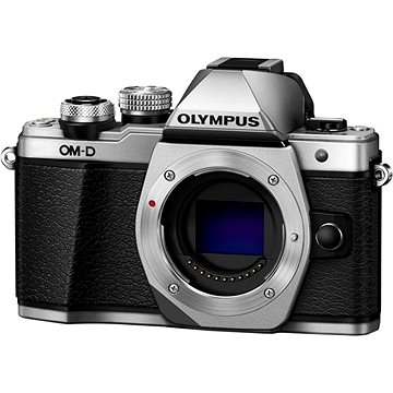 Olympus E-M10 Mark II tělo stříbrné (V207050SE000)