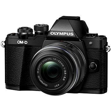 Olympus E-M10 Mark II black/black + 14-42mm II R (V207051BE000)