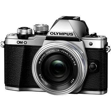 Olympus E-M10 Mark II silver/silver + ED 14-42mm EZ (V207052SE000)