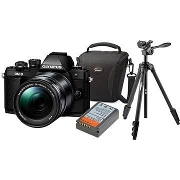 Olympus E-M10 Mark II black/black + ED 14-150 II + Olympus Starter Kit