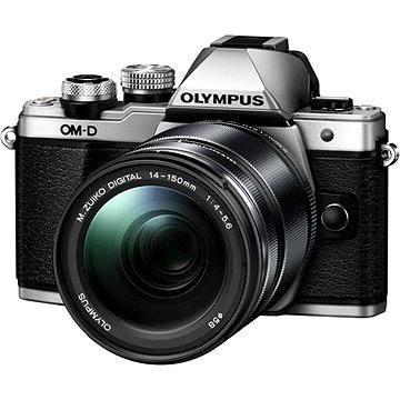 Olympus E-M10 Mark II silver/black + ED 14-150 II (V207054SE000) + ZDARMA Brašna na fotoaparát Lowepro Format 110 černý