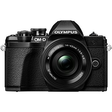 Olympus E-M10 Mark III černé/černé + 14-42mm II R (V207071BE000)