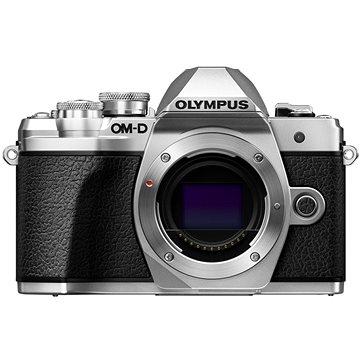 Olympus E-M10 Mark III stříbrný + 14-42 II R stříbrný + 40-150mm R stříbrný (V207071SE010)