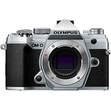 Olympus OM-D E-M5 Mark III tělo stříbrný (V207090SE000)