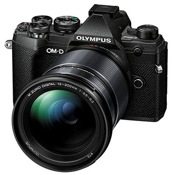 Olympus OM-D E-M5 Mark III + 12-200 mm černý (V207090BE010)