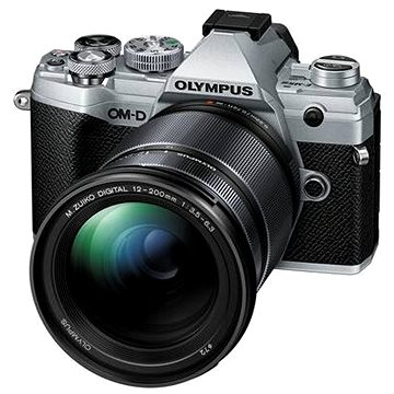 Olympus OM-D E-M5 Mark III + 12-200 mm stříbrný (V207090SE010)