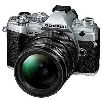 Olympus OM-D E-M5 Mark III + 12-40 mm PRO stříbrný (V207090SE020)