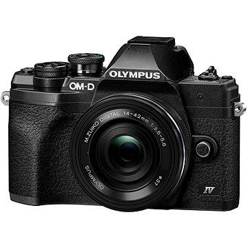 Olympus OM-D E-M10 Mark IV + 14-42 mm EZ černý (V207132BE000)