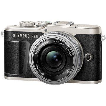 Olympus PEN E-PL9 černý + M.Zuiko Pancake 14-42mm (V205092BE000)