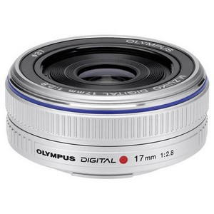 ZUIKO DIGITAL ED 17mm Pancake silver F2.8 (N3593592)