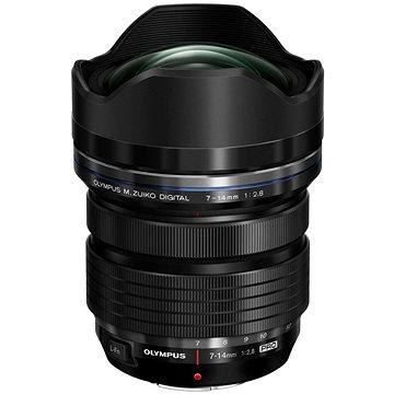 M.ZUIKO DIGITAL ED 7-14mm f/2.8 PRO černý (V313020BW000)