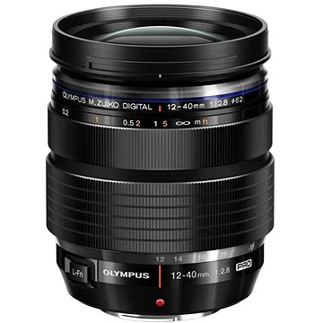 M.ZUIKO DIGITAL ED 12-40mm f/2.8 PRO černý (V314060BW001) + ZDARMA UV filtr Polaroid MC UV 62mm