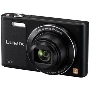 Panasonic LUMIX DMC-SZ10 černý (DMC-SZ10EP-K) + ZDARMA Paměťová karta SanDisk SDHC 16GB Ultra Class 10 UHS-I