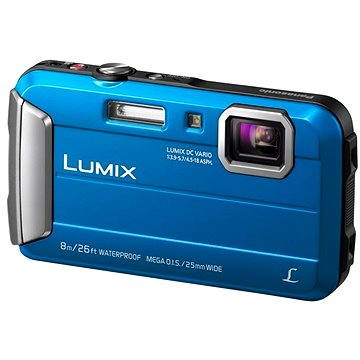 Panasonic LUMIX DMC-FT30 modrý (DMC-FT30EP-A)