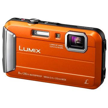 Panasonic LUMIX DMC-FT30 oranžový (DMC-FT30EP-D)