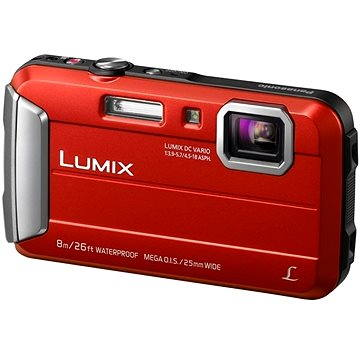 Panasonic LUMIX DMC-FT30 červený (DMC-FT30EP-R)
