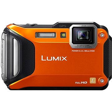 Panasonic LUMIX DMC-FT5 oranžový (DMC-FT5EP9-D)